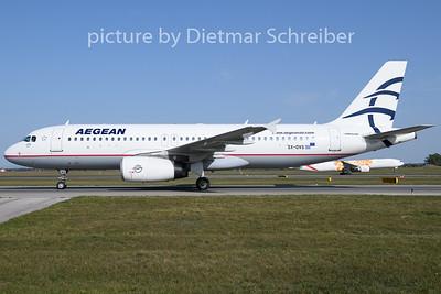 2020-09-20 SX-DVS Airbus A320 Aegean Airlines