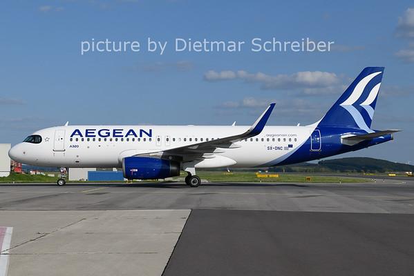 2021-08-25 SX-DNC Airbus A320 Aegean