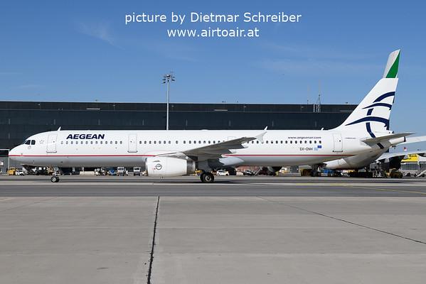 2021-09-10 SX-DNH Airbzs A321 Aegean Airlines