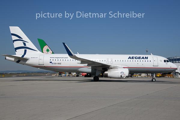2019-08-15 SX-DGZ Airbus A320 Aegean Airlines
