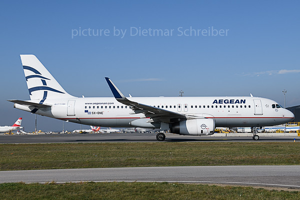 2019-10-15 SX-DNE Airbus A320 Aegean Airlines