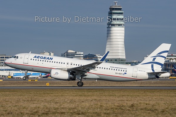 2019-12-30 SX-DGY Airbus A320 Aegean Airlines
