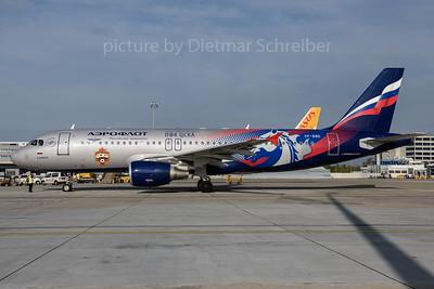 2017-10-26 VP-BWD Airbus A320 Aeroflot