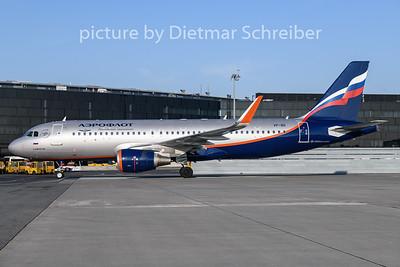 2019-02-05 VP-BII Airbus A320 Aeroflot