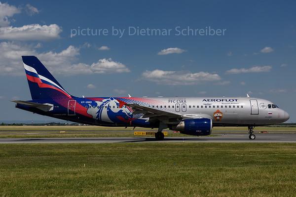 2017-06-13 VP-BWD Airbus A320 Aeroflot
