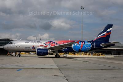 2017-09-25 VP-BWE Airbus A320 Aeroflot