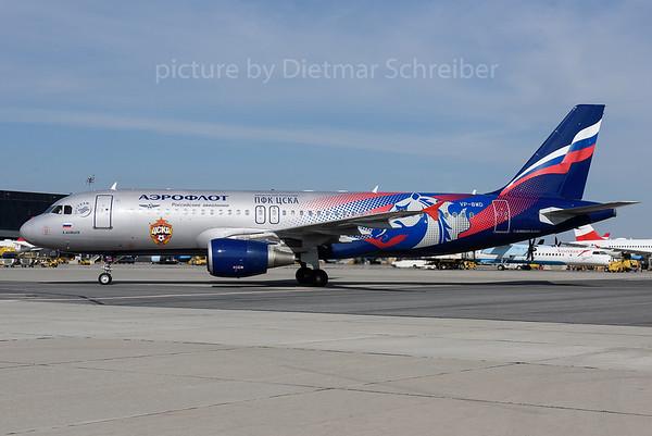 2017-05-10 VP-BWD Airbus A320 Aeroflot