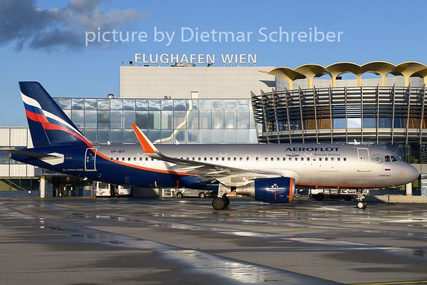 2019-01-18 VP-BIY Airbus A320 Aeroflot