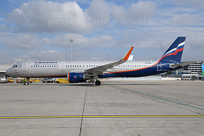 2019-10-07 VP-BFK AIrbus A321 Aeroflot