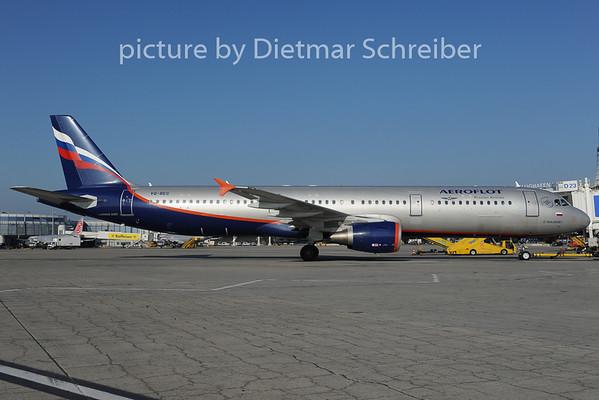 2012-11-15 VQ-BEG Airbus A321 Aeroflot