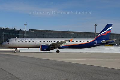 2016-10-31 VQ-BED AIrbus A321 Aeroflot