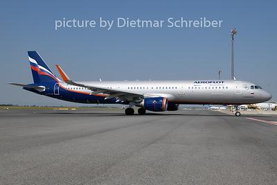 2018-08-09 VP-BES Airbus A321 Aeroflot