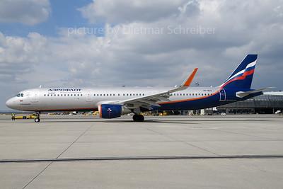 2018-04-02 VP-BES Airbus A321 Aerofllot
