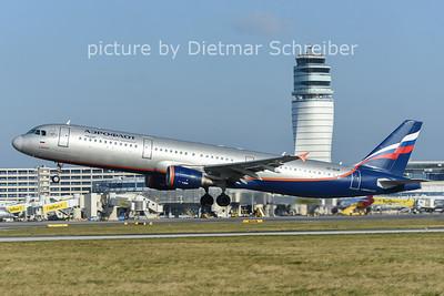 2014-12-09 VP-BUM AIrbus A321 Aeroflot