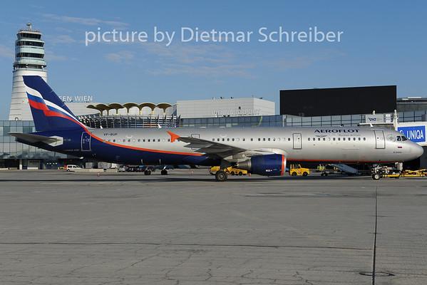2012-12-01 VP-BUP AIrbus A321 Aeroflot