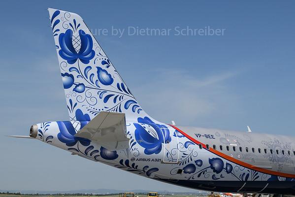 2018-05-31 VP-BEE Airbus A321 Aeroflot