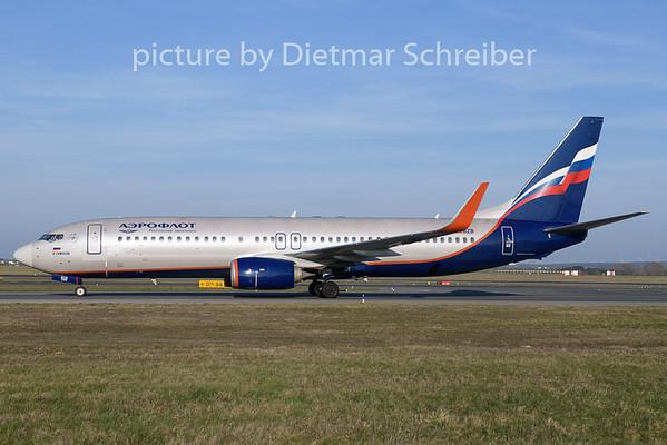 2019-03-30 VP-BZB Boeing 737-800 Aeroflot
