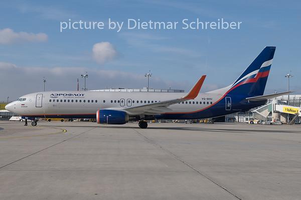 2019-02-06 VQ-BHU Boeing 737-800 Aeroflot