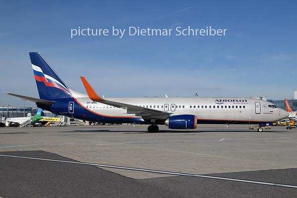2018-11-02 VP-BMO Boeing 737-800 Aeroflot