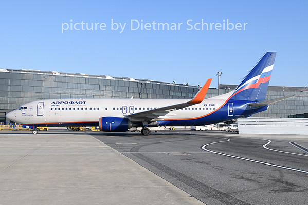 2020-01-23 VQ-BWD Boeing 737-800 Aeroflot