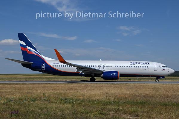 2019-07-17 VQ-BHD Boeing 737-800 Aeroflot