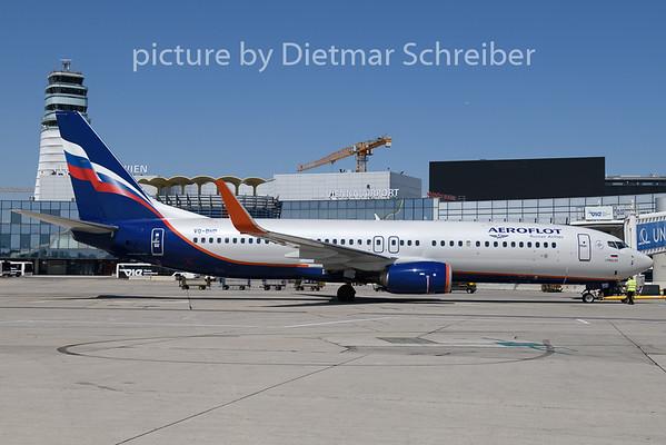 2019-07-04 VQ-BHD Boeing 737-800 Aeroflot