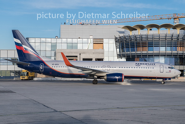 2019-12-20 VP-BFB Boeing 737-800 Aeroflot