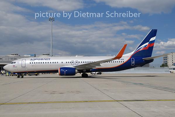 2018-08-15 VP-BON Boeing 737-800 Aeroflot