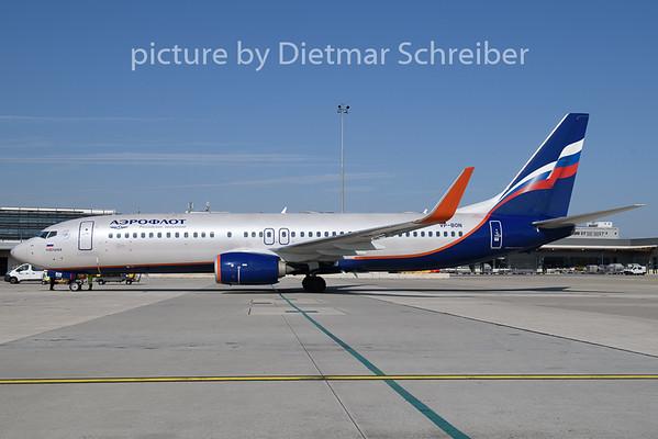 2018-09-13 VP-BON Boeing 737-800 Aeroflot