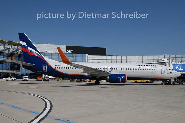 2018-08-17 VP-BKK Boeing 737-800 Aeroflot