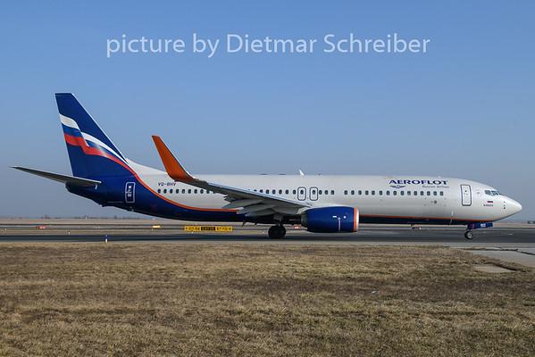 2019-01-21 VQ-BHV Boeing 737-800 Aeroflot