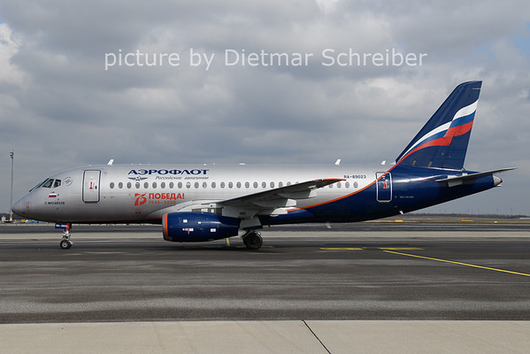2021-03-08 RA-89023 Sukhoi Superjet Aeroflot