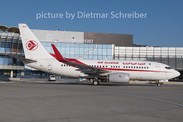 2019-02-06 7T-VKS Boeing 737-700 Air Algerie