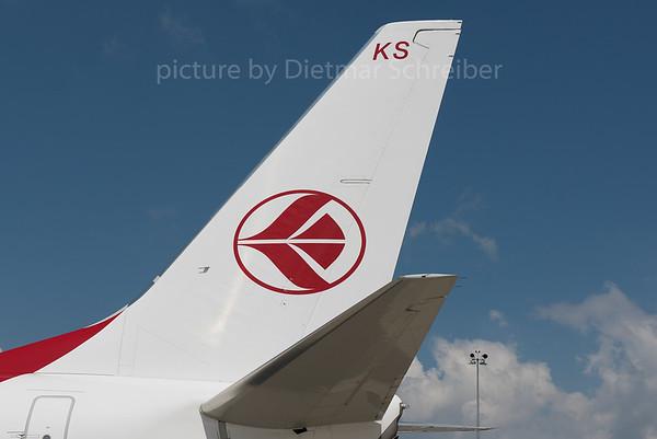2016-08-06 7T-VKS Boeing 737-700 Air Algerie