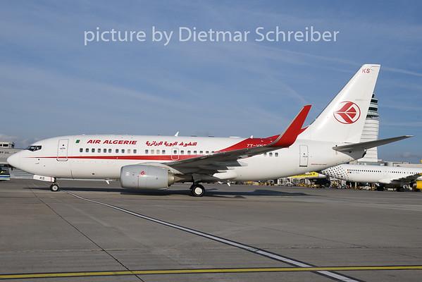 2018-11-14 7T-VKS Boeing 737-700 Air Algerie