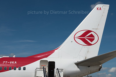 2016-08-03 7T-VKA Boeing 737-800 Air Algerie
