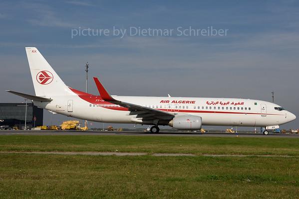 2017-10-18 7T-VKK Boeing 737-800 AIr Algerie