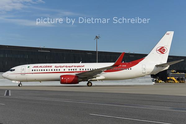 2014-11-05 7T-VKE Boeing 737-800 Air Algerie