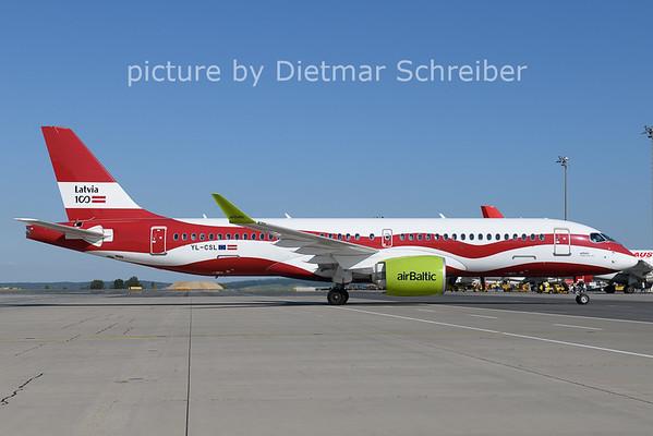 2021-06-13 YL-CSL Airbus A220-300 Air Baltic