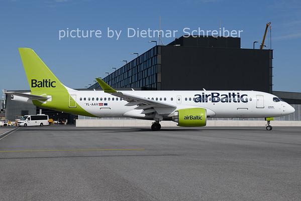2021-08-11 YL-AAV Airbus A220-300 AIr Baltic