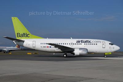 2018-04-02 YL-BBN Boeing 737-500 Air Baltic
