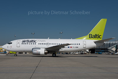 2016-04-21 YL-BBM Boeing 737-500 Air Baltic