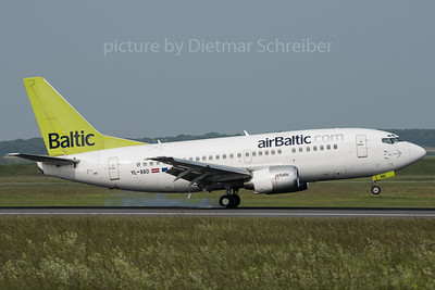 2016-05-26 YL-BBD Boeing 737-500 Air Baltic