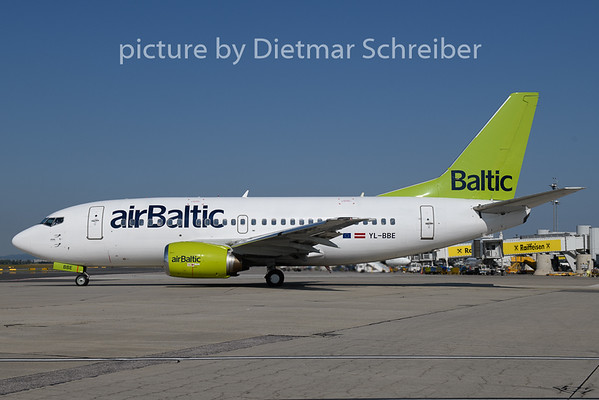 2018-08-16 YL-BBE Boeing 737-500 Air Baltic