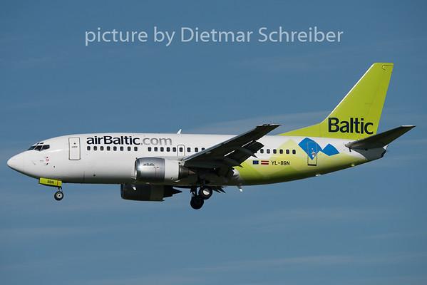 2015-05-12 YL-BBN Boeing 737-500 Air Baltic