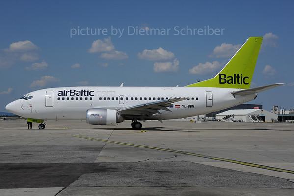 2013-08-15 YL-BBN Boeing 737-500 Air Baltic