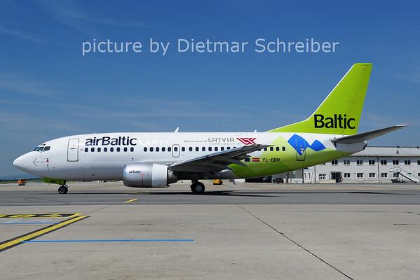 2014-05-21 YL-BBN Boeing 737-500 AIr Baltic