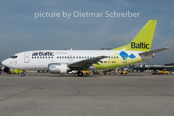 2015-05-05 YL-BBN Boeing 737-500 Air Baltic