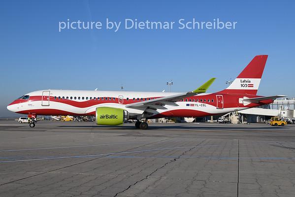 2020-01-02 YL-CSL Airbus A220-300 Air Baltic