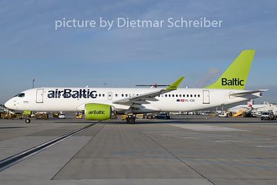 2019-12-30 YL-CSI Airbus A220-300 Air Baltic